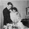bride and groom circa 1940s - JC