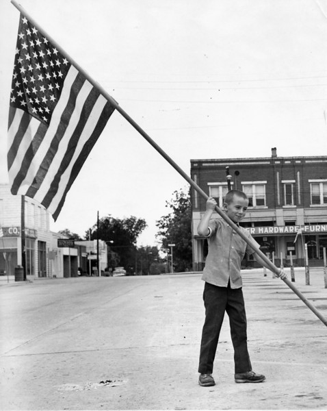 Flag Day 1970 Mitch Griffin