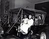 1950- CHEVROLET DEALERSHIP CORNER MARION & DENNIS : ELMO & LUCILLE JENKINS, W.E. & ------ CONNELL W/ ROGER