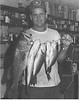 Lamar Williams with Fish, July 1975