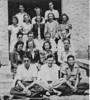 Unknown School Group, from newspaper proof. Original photo, and year and individual identifications needed.