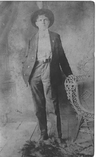 Austin Tison, son of Seaborn Tison and Rachel Bennett Tison, born June 13, 1887. Married to Annie Spells. Photos courtesy of Jennifer King