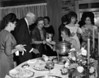 Gathering at W W and Ruby Gaskins Turner Home, March 24 1964.<br /> Ann Nix Maddox, W. L. Clark, ?, Cleo Carter Clark, Fonda Roberson ?, Susan Webb Griner.(Courtesy of William Waugh Turner III)