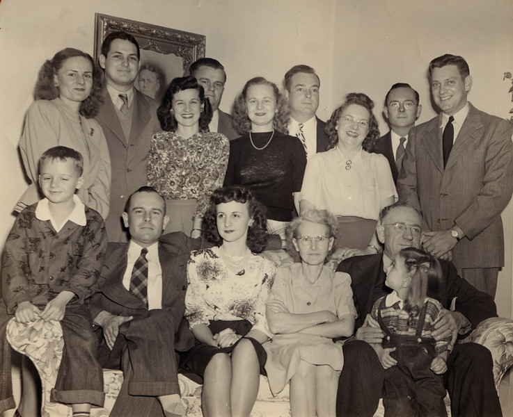 Mr  and Mrs  Newt Hughes Dec 1948 or 1949