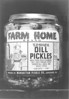 Jar of pickles from the Manhattan Pickle Co. that was processed and packaged in Nashville. Ga.<br /> <br /> In December of 1945, a new business venture came to Berrien County, The Manhattan Pickle Company. Doing business locally as the Nashville Packing Company, the  Manhattan Pickle Company set up a processing plant in an industrial building constructed by Berrien Investment, Inc. of Chicago, Illinois. <br /> The Manhattan Pickle Company was founded about 1915 by Louis Weinberg in Manhattan, Illinois, just south of Chicago.  By the 1940s,  Louis' son, Jack Weinberg, was at the helm of the company. <br /> Sol Weinberg, CEO of the Manhattan Pickle Company, moved to Nashville to manage the operation of the local pickle plant.<br /> (From notes on Ray City History Blog by John Sizemore)