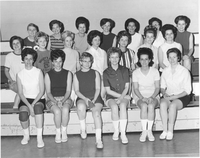 The Berrien Press, page 8, April 22, 1971<br /> photo caption:<br /> MAMA REBELETTES – In a cancer benefit game, the Mama Rebelettes were defeated by Mama Beavers of Ray City.  More numerous, the Rebelettes, left to right, were:  Front, Pat Sutton, Ruth Harris, Melba Phillips, Mary Fountain, Bonnie Moore, Gail Pruett; second row, Gail Jamison, Elna Bragdon, Mary Lynn Moore, Bernice Sutton, Carolyn Griffin, Avy Cook, Mary Powell; back row, Peggy Hancock, Martha Blackmon, Betty Barber, Clara Cook, Ruth Adams, Shelby Adams and Carolyn Powell.<br /> <br /> <br /> file:  Mama Rebelettes - charity game - April 1971