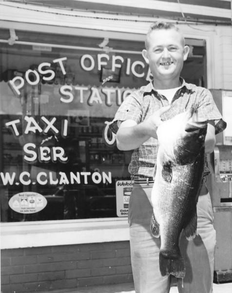 Duck Clanton 1960s JC