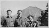 Flem J. Connell, left, in the CCC camp, out in Oregon. Photo courtesy of his son, Jack Connell.
