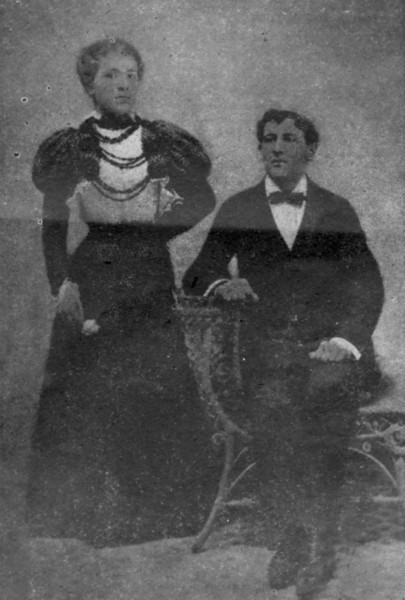 Mr. and Mrs. Max Cohen, father and mother of four Cohen brothers who operate Cohen's Department Stores all over south Georgia . <br /> It was away back in 1896 that Max Cohen, founder of present Cohen's Stores started sowing a crop which today's thrift loving people of South Georgia are reaping rich benefits.<br /> Max Cohen sowed in the minds of his sons the seeds of confidence, integrity and fair dealing.<br /> Every day the modern up and coming Cohen's Chain of Department Stores located in Nashville and thirteen more good South Georgia towns and cities bears the earmarks and lessons of the same upright purposes that Max Cohen taught his sons.<br /> That is why the 375,000 people living in South Georgia believe so fervently in Cohen's Stores. The Cohen sons are carrying out the promises the father made. The people of South Georgia have weighed the present promises of Cohen's Stoes and have not found them wanting and THEY BUY BECAUSE THEY BELIEVE.<br /> (Nashville Herald, February 16, 1956, during Berrien County's Centennial)