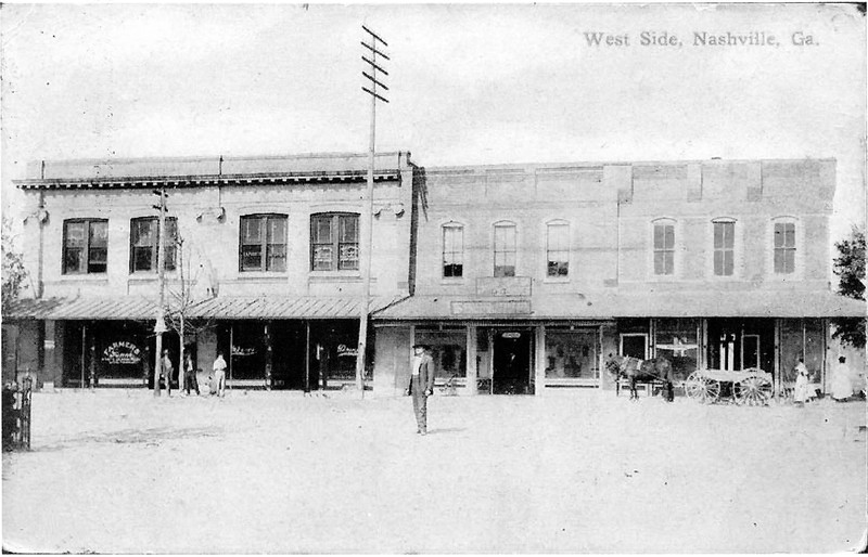 Nashville West Side 1910 BW