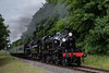 Ivatt No. 41312 and Std 4 No. 76017 at College Crossing with the 10:25 Alresford - Alton, <br /> on 8th July 2017.