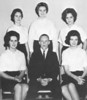 1963-64 Glee Club Officers from BHS yearbook