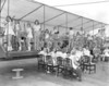 Berrien Band and Majorettes at Moody (Large format negative)