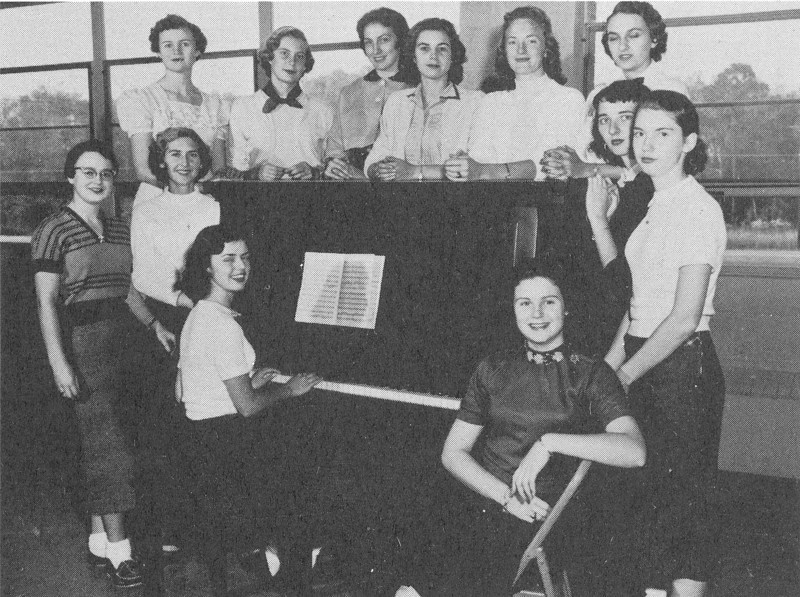 1956-57 Serenaders (from yearbook)