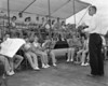Berrien High Band at Moody (Large format negative)