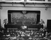 "Nashville High School Auditorium in Stucco Building, April (probably 1948), Jamie Connell Notation, states ""Operetta"" April (year illegible)"