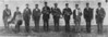 Back in 1890, Nashville had a brass band, one of the few in South Georgia, and as a result played for events far and near. Band members pictured above are John Taylor, A. Albritton, Cater Morris, T. I. Griffin, Bill Futch, Joseph Morris, Osborn Smith, Little Mart Griner, Lawrence Swindle, and William Henry Morris.