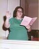 Mary Anne Waller, Methodist Church music director, 1973