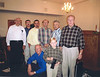 Standing left to right: Bill Hollis, Clark Shiver, Jason Boykin, Terry Hesters, Vinson Boykin, Johnny Brantley. Front, Buck Warren and Stone Sirmans. About 2003. Photo courtesy of Johnny Brantley
