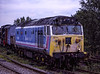 "50026 ""Indomitable"" at Alton on 18th September 1994. Scanned Transparency."
