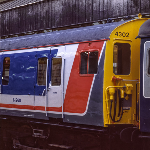 2-HAP No. 4302 at Waterloo on 6th May 1989. Scanned Transparency.