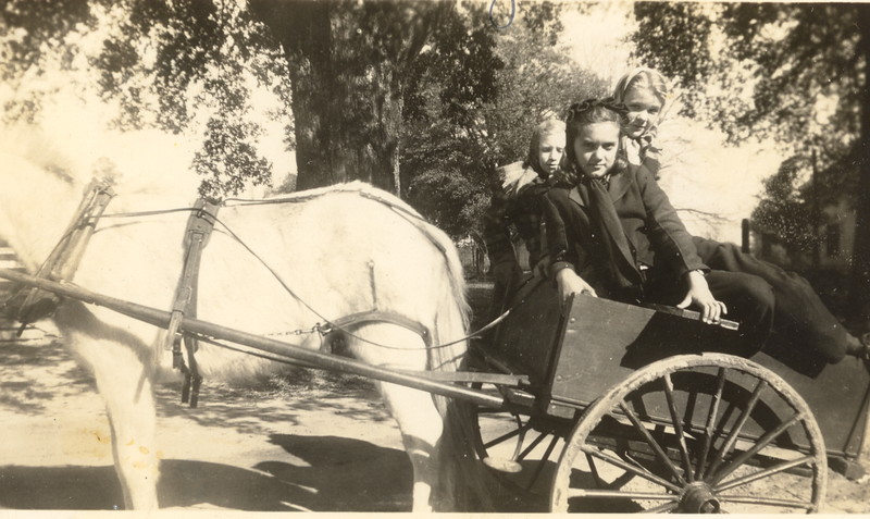 LaJuanna Webb, center, Joan Elaine Turner, right