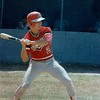 1987 BHS baseball - Steven Snipes at the plate against Camden County in the Region 2-AA playoffs.