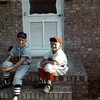 Hank and Stanley Phillips - 1969 or 1970 little league baseball<br /> <br /> <br /> photo courtesy of Melba Phillips