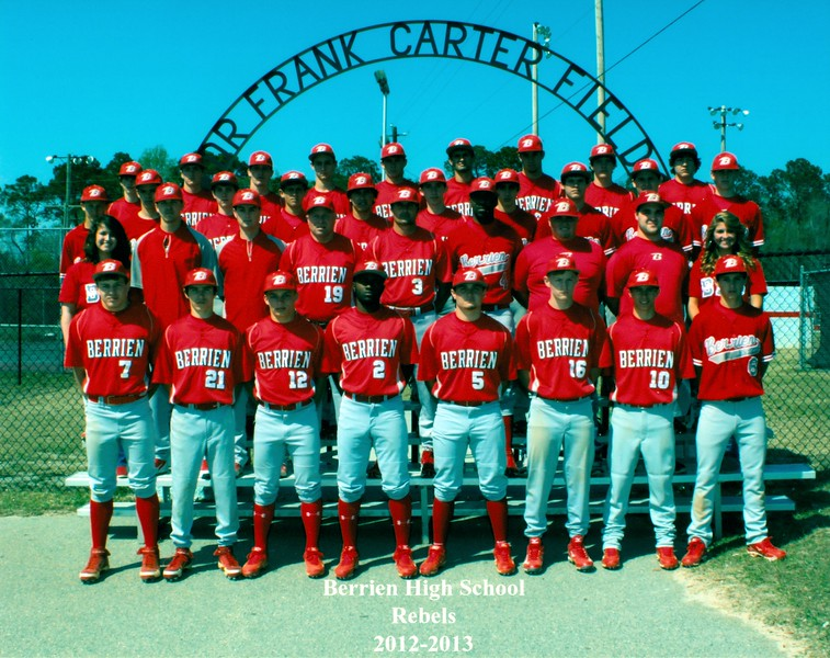 2013 BHS Baseball Team<br /> Head Coach:  Doug Nix
