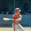 1987 BHS baseball - Jerry Simmons takes a swing against Camden County in Region 2-AA playoffs.