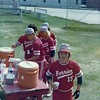 Hank Phillips and BHS Baseball team members - 1976