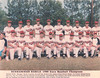 1988 State Baseball Champs 31-0:<br /> Front, L-R: Manager, Derek Cornelius, Ronnie Ash, Jackson Hamil, Steve Snipes, Vic Correll, Michael Spells, Stan Nix, Dan Nix, Kevin Herring, Manager Chuck Akridge; Back, L-R: Clay Rampey, Ben Smith, Scott Purvis, Rusty Harrellson, Lee Stallings, Bo Houston, Kevin Sapp, Keith McCranie, Riley O'Berry, Coach Bart Shuman.