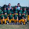 1987 Little League A's Baseball Team<br /> <br /> Front:  _____,  _____,  Darian Futch, _____,  Jason Rowland, ___ Butler<br /> 2nd Row:  ___ Butler, _____,  Derrick Renfroe, _____,  _____,  _____,  _____,  _____.<br /> Back:  Coaches Randy Futch and Russell Rowland<br /> <br /> (other identifications needed)