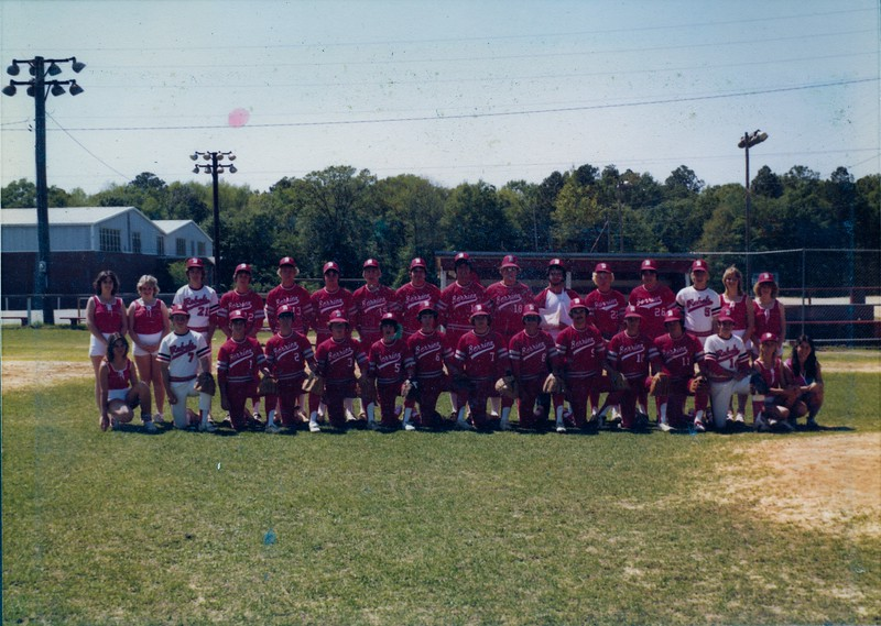 1980 BHS Baseball Team