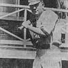 Newt Hughes, 1909-1911 Baseball team, Army service.