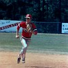 1987 BHS baseball - Stand Nix prepares to field a ball in the Region 2-AA playoffs at Camden County.