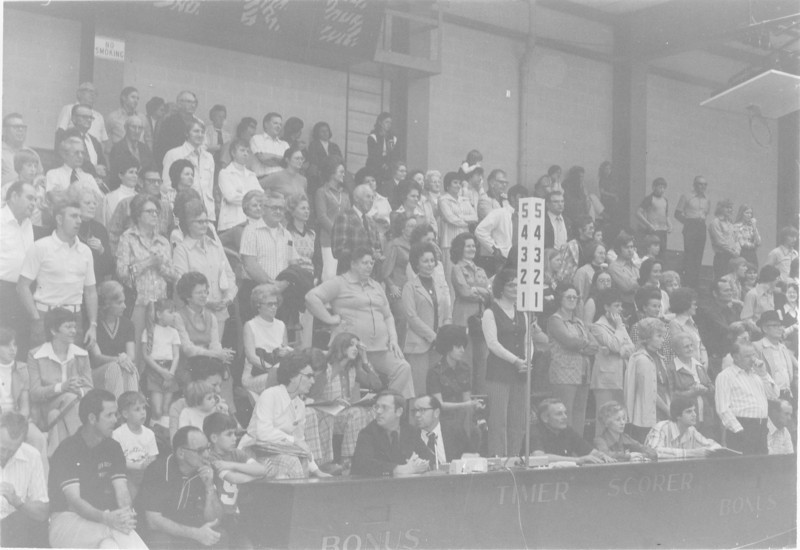 1975 girls basketball crowd at SGC_1