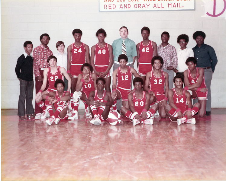 1970s BHS Boys Basketball Team