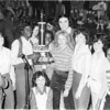 1978-79 Alapaha School Girls Basketball Team - County Champions<br /> <br /> The Berrien Press, page 10, February 15, 1979(JR HI basketball)<br /> Photo caption:<br /> #1 BJHS GIRLS TOURNEY WINNER – The #1 team in the Berrien Junior High school girls tournament playoffs was Alapaha, coached by Larry Maffit.  Members of the team from left, are:  Chantell Stone, Gertrude Harris, Edwina Smith, Michelle Gaskins, Sherry Griffin, Missy Hoffman and Beverly Robinson.  In back [L-R] are, Lynn Brogdon, Robyn Hall and Bridgett Moore, and kneeling in front is Tammy Gaskins.  Not shown are Larraine Boone and Debbie Wood.