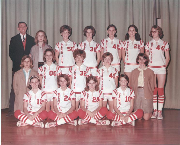 1969-70 BHS Girls Basketball Team -  JC