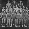 The Nashville Herald, front page, March 10, 1955				<br /> County Basketball Champions<br /> Photo caption:<br /> <br /> Alapaha grammar boys likewise took county basketball honors by defeating Nashville grammar boys, 51-25.  Alapaha boys, front row left to right, Tillman Brogdon, Bobby Holland, Julian Giddens, Wesley Mattews, Elton Heath, Melvin Moore, L.A. Selph, Franklin Tucker.  Middle row left to right, Coach W.C. Sams, Olan Moore, Frank Gaskins, Lamar Davis, Winston Luke, Charles Alexander, Billy Roberts, Willie Heath, Joe Guess, Eddie Owens.  Back row left to right R.D. Crews, Bobby Akridge, Wendall Moore.<br /> <br /> (newspaper clipping shared by Tommie Vickers, original photo needed)