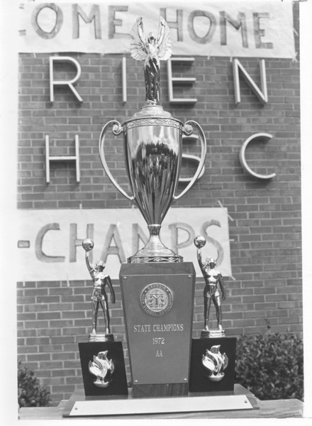 1972 AA State Champs trophy