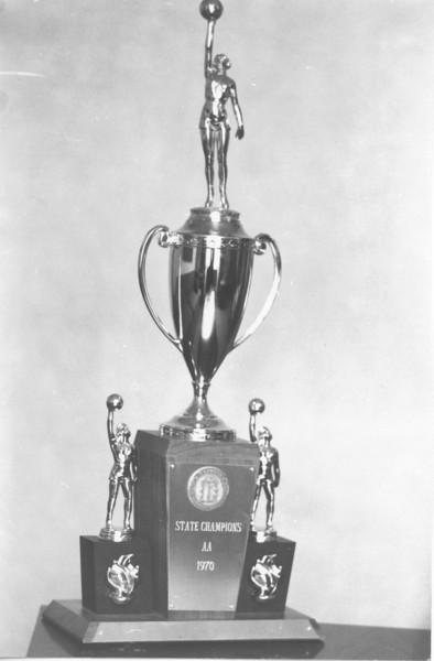 1970 Girls State Championship Trophy