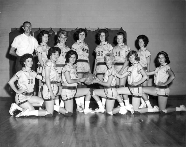 BHS Girls Basketball 1963-64.