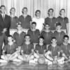 Berrien High School B-Team Basketball Team, circa 1962-63, Dewey Hulsey, coach.
