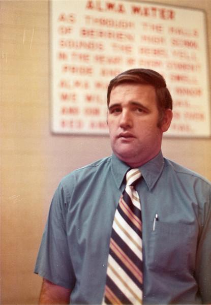 1970s BHS  Basketball - John Nix