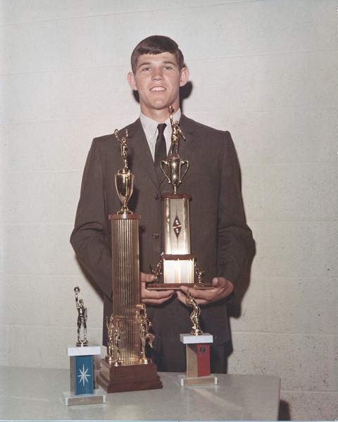 BHS Sports Award winner