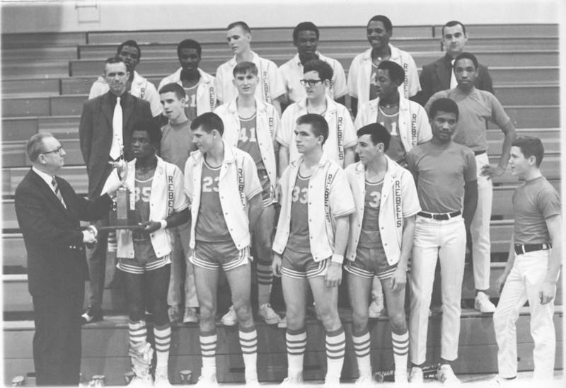 1971 Region Champions trophy presentation