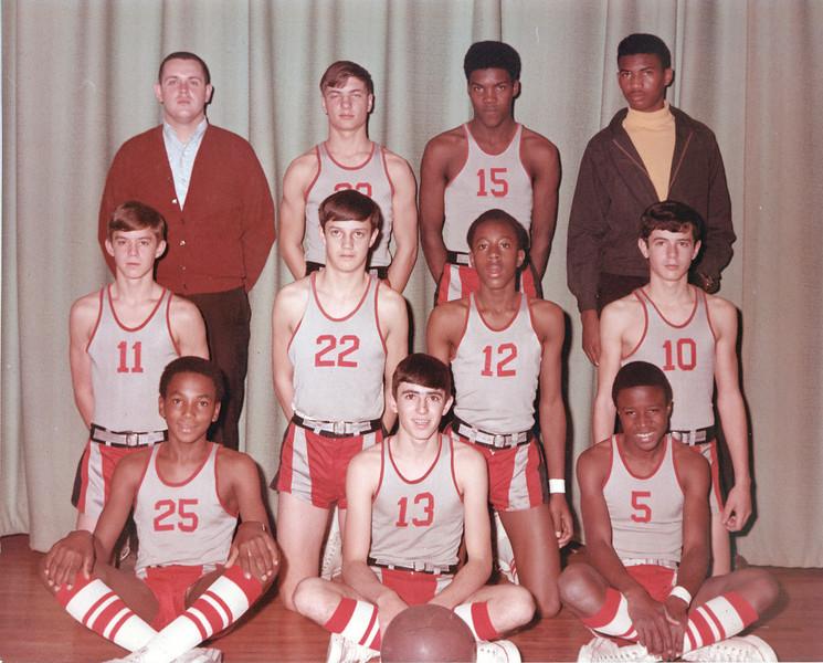 1969-70 BHS Boys Freshman Basketball -  JC