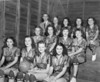1947-48 Nashville High School Girls Basketball Team<br /> <br /> (photo by Jamie Connell)